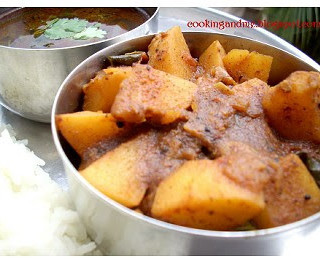 Pepper Rasam and Potato Masala-Rasam Recipes-Aloo Recipes