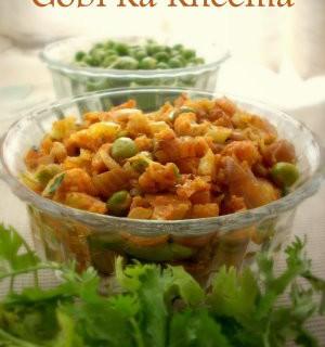 Gobi Peas Masala – Cauliflower Peas Masala Curry