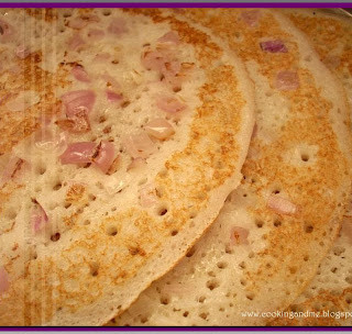 Onion Uthappam Recipe | Onion Uttappam Recipe | Easy Breakfast Recipes
