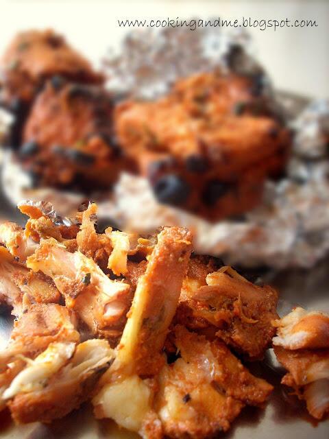 Tandoori Aloo Chicken   Tandoori Chicken with Potatoes Recipe