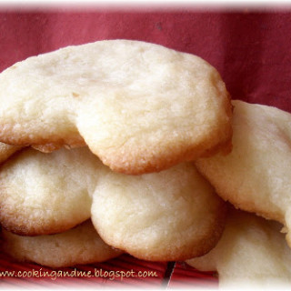 Heart-Shaped Shortbread Cookies for Valentines Day