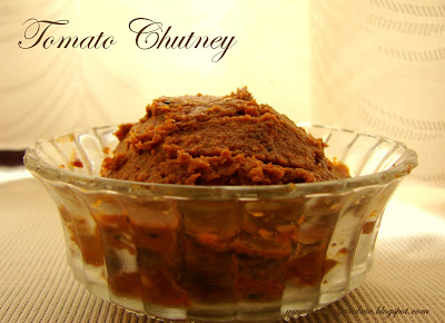 Thakkali Chutney Recipe - Tomato Chutney Recipe