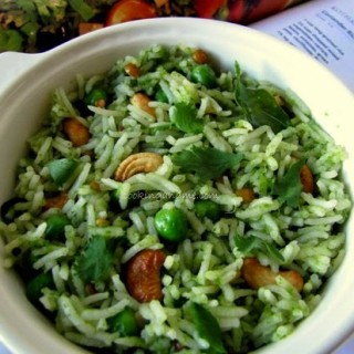Coriander Rice – Coriander Rice Recipe – Kothamalli Sadam