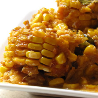 Sweet Corn in Rich Onion Sauce – Step by Step Recipe