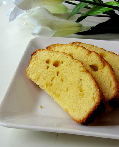 condensed milk pound cake recipe