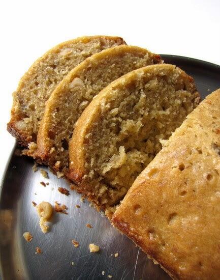 banana bread with macadamia nuts recipe