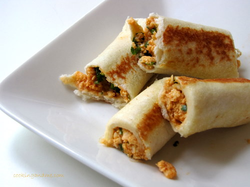 Bread Paneer Rolls How To Make
