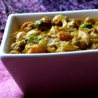 Soya Chunks Kurma Recipe | Soya Chunks Vegetable Kurma Recipe