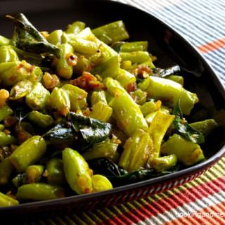 Beans Mezhukkupuratti / Stir Fried French Beans Recipe
