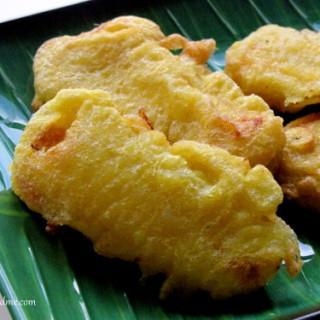 Pazham pori recipe, ethakka appam step by step