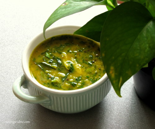 Methi Yellow Dal Recipe