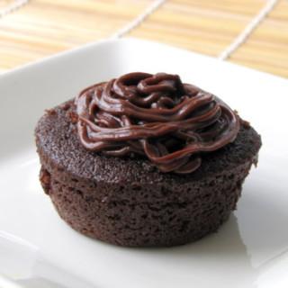 Devil's Food Chocolate Cupcakes with Vanilla Cream Filling Recipe