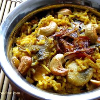 Mushroom Biryani / Mushroom Biryani Recipe | Biryani Recipe