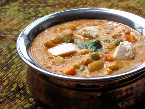 Navratan Korma / Navaratna Kurma Recipe - Step by Step ...