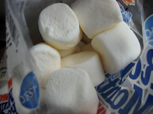 marshmallows for easy chocolate mousse recipe