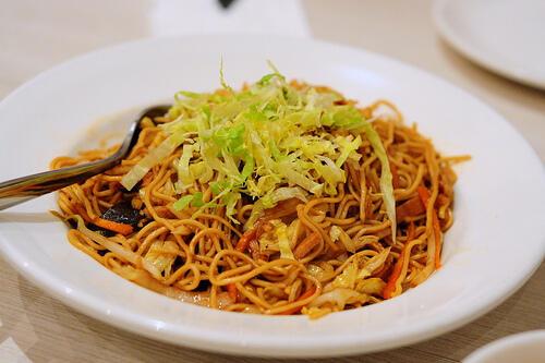 Hong Kong Fried Noodles