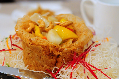 Fried Yam Ring
