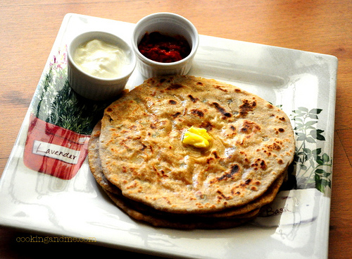 aloo paratha recipe step by step