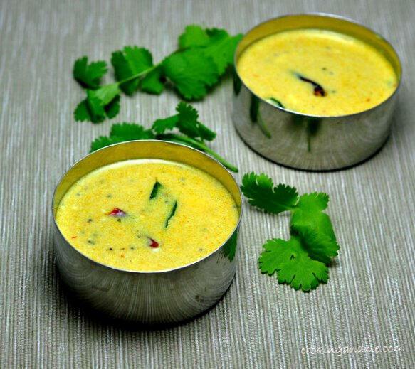 green mor kozhambu recipe