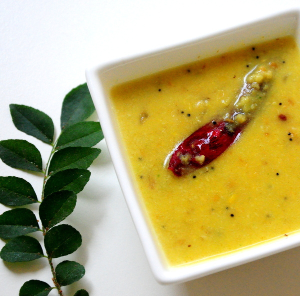 Kerala Parippu Curry-Parippu for Onam Sadya