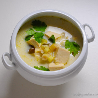 Veg Thai Tom Kha Soup Recipe | Vegan Tom Kha Recipe