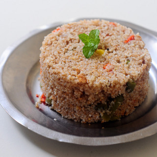 Vegetable Dalia (Broken Wheat) Upma Recipe