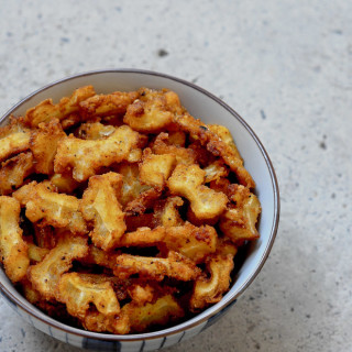 Bitter Gourd Fry Recipe, how to make Pavakkai Fry