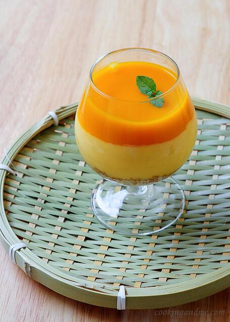 Eggless No-Bake Mango Cheesecake Recipe