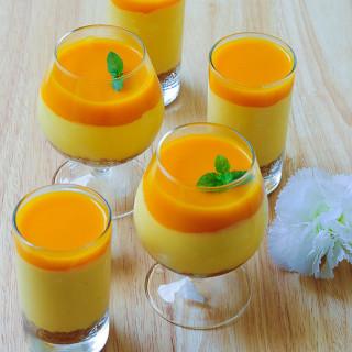 Eggless No-Bake Mango Cheesecake Recipe Step by Step