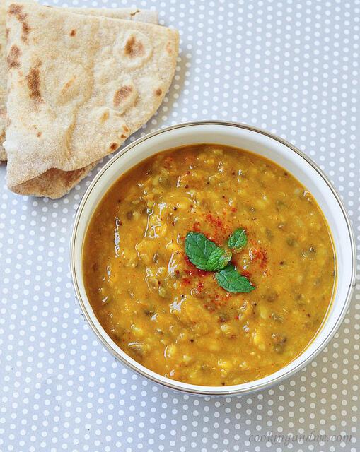 dal panchratan / five lentils recipe