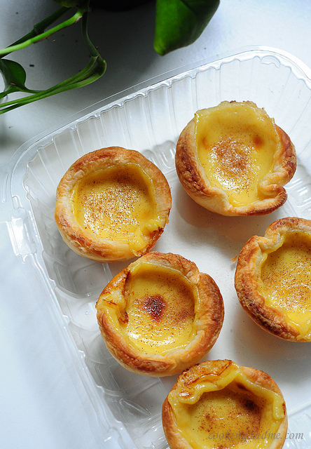 Portuguese Egg Custard Tarts Recipe