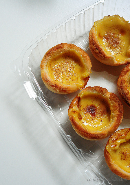 Portuguese Egg Custard Tarts Recipe
