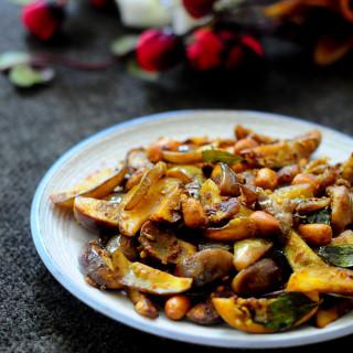 Baby Brinjal and Peanut Masala Recipe | Kathirikai Curry Recipe