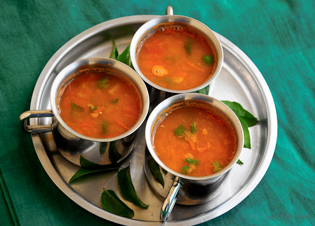 tomato juice rasam recipe, easy juice rasam recipe