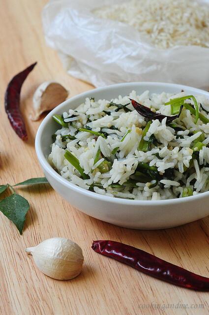 kang kong garlic rice recipe