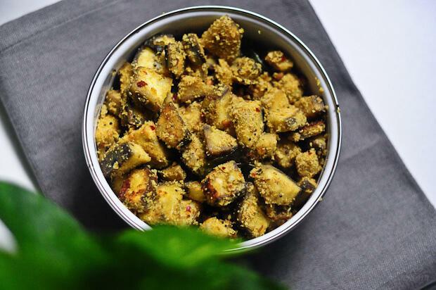Vazhakkai Roast Masala / Raw Banana Roasted in Masala - Edible Garden