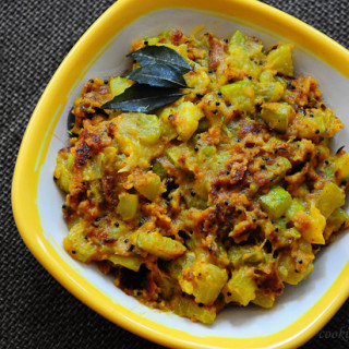 Zucchini Besan Sabji, Indian Zucchini Recipes