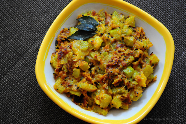 Zucchini besan sabji indian zucchini recipes edible garden forumfinder Images
