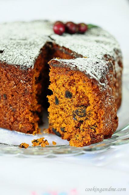 Kerala Plum Cake   Christmas Fruit Cake Recipe