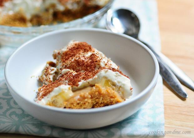 No-Bake Banana Toffee (Banoffee) Pudding Recipe