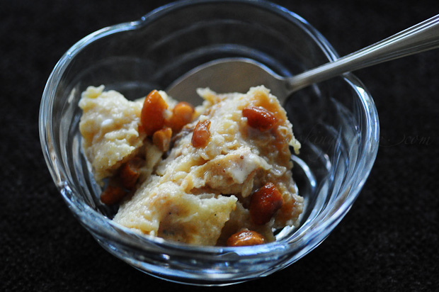 Paal Poori - Pooris Soaked in Sweetened Milk
