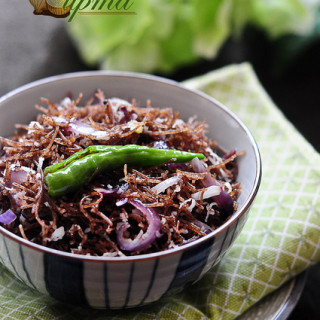 Ragi Semiya Upma Recipe (Vermicelli Upma) – Upma Recipe