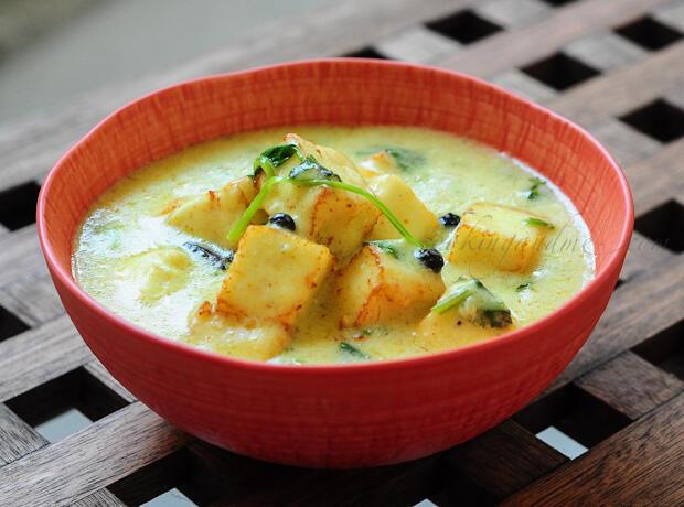 Paneer korma paneer kuruma indian paneer recipes edible garden forumfinder Images