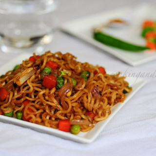 Instant Vegetable Noodles Recipe | Quick Snacks