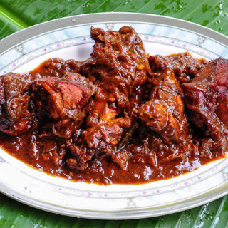 Kerala chicken roast recipe, spicy Kerala chicken roast
