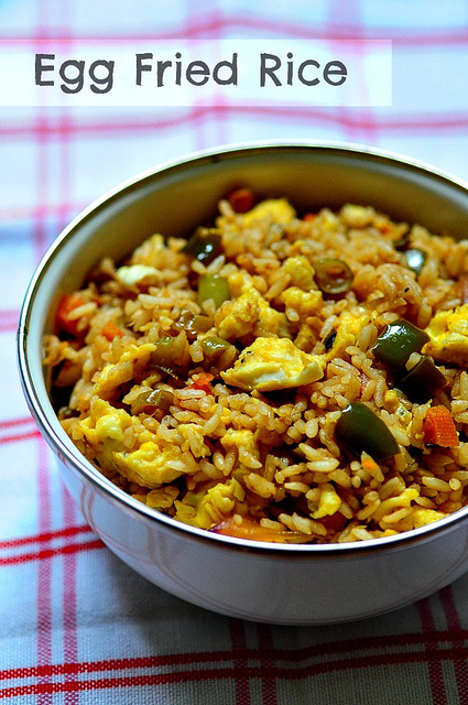Egg Fried Rice Recipe-Indian-Chinese Egg Fried Rice Recipe - Edible ...