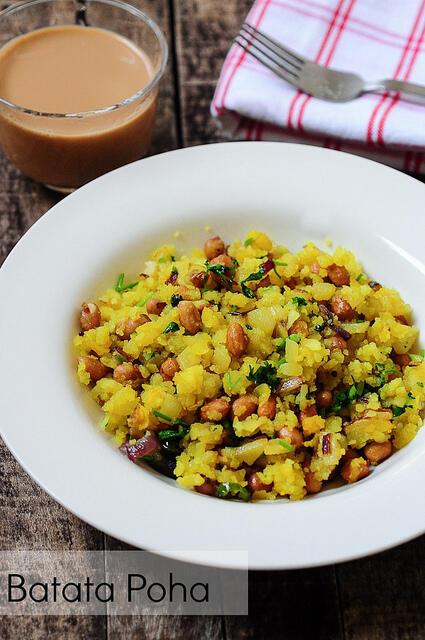 how to make potato poha