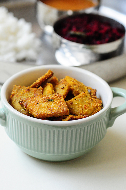 Yam Fry-Yam Tawa Roast-Indian Yam Recipes