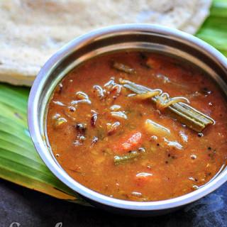 Kerala Sambar Recipe, Kerala Sambar without Coconut