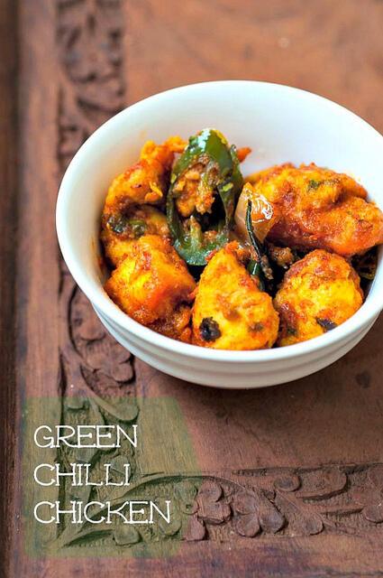 Andhra Chilli Chicken Recipe